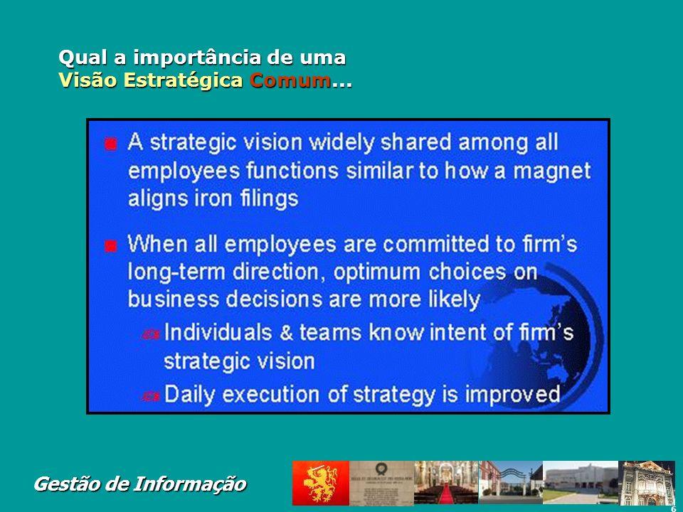 Qual a importância de uma Visão Estratégica Comum...