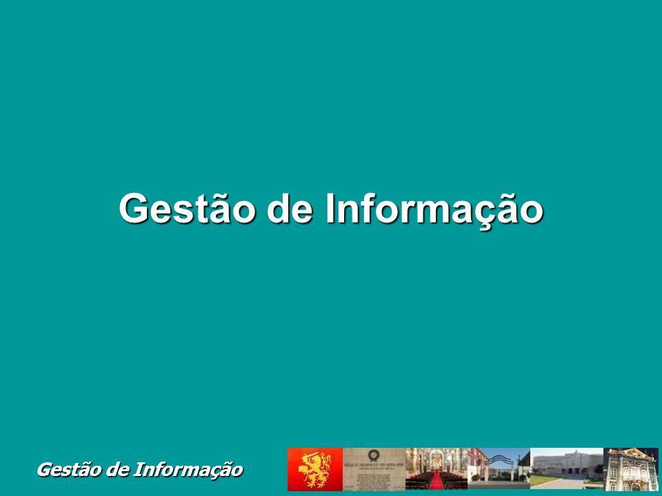 Gestão de Informação