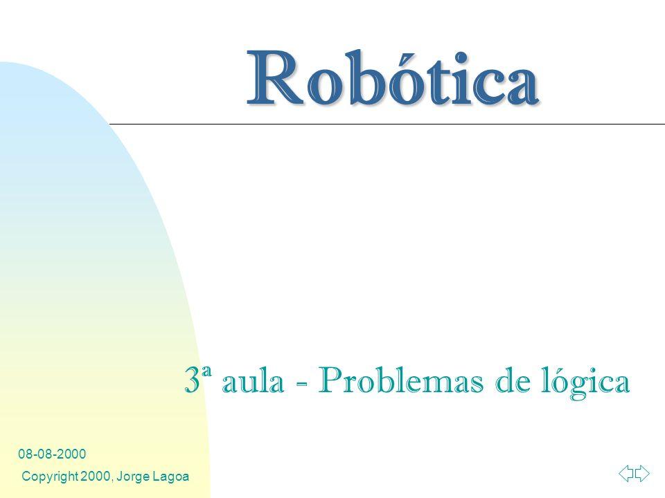 3ª aula - Problemas de lógica