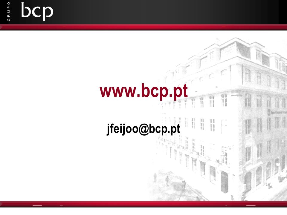 www.bcp.pt jfeijoo@bcp.pt
