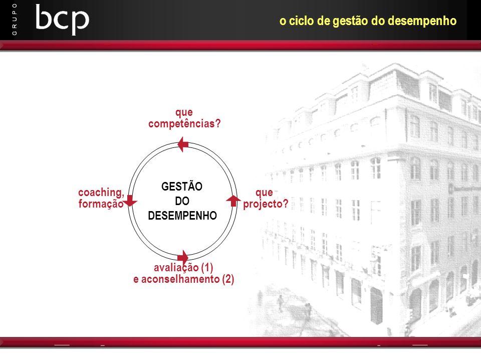 o ciclo de gestão do desempenho