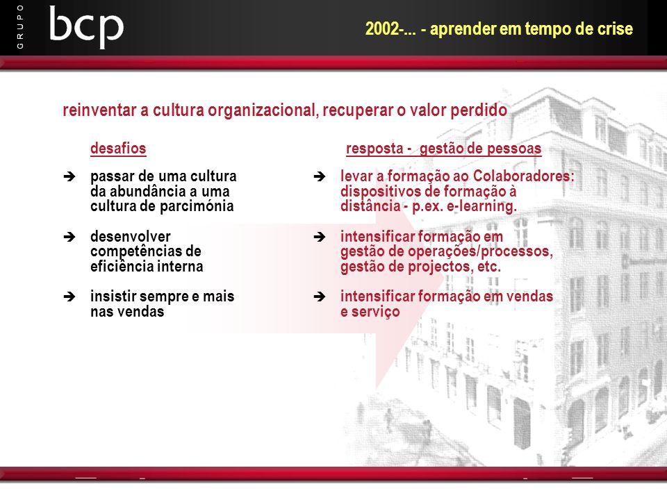 2002-... - aprender em tempo de crise