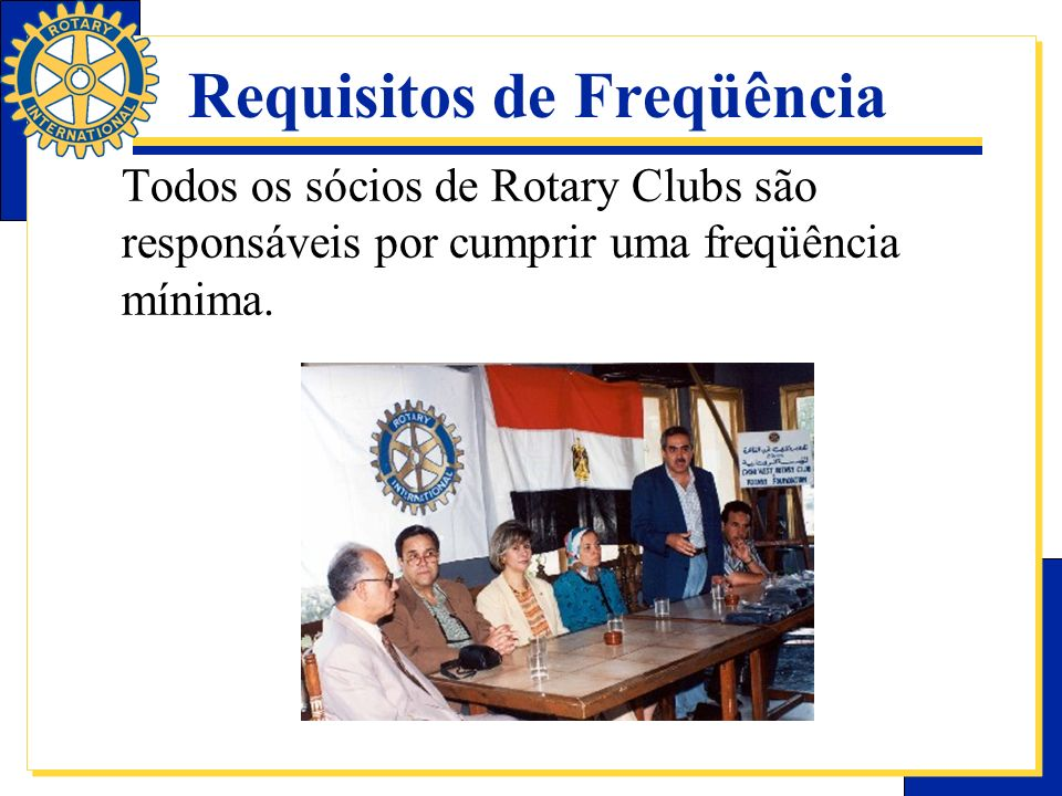 Requisitos de Freqüência