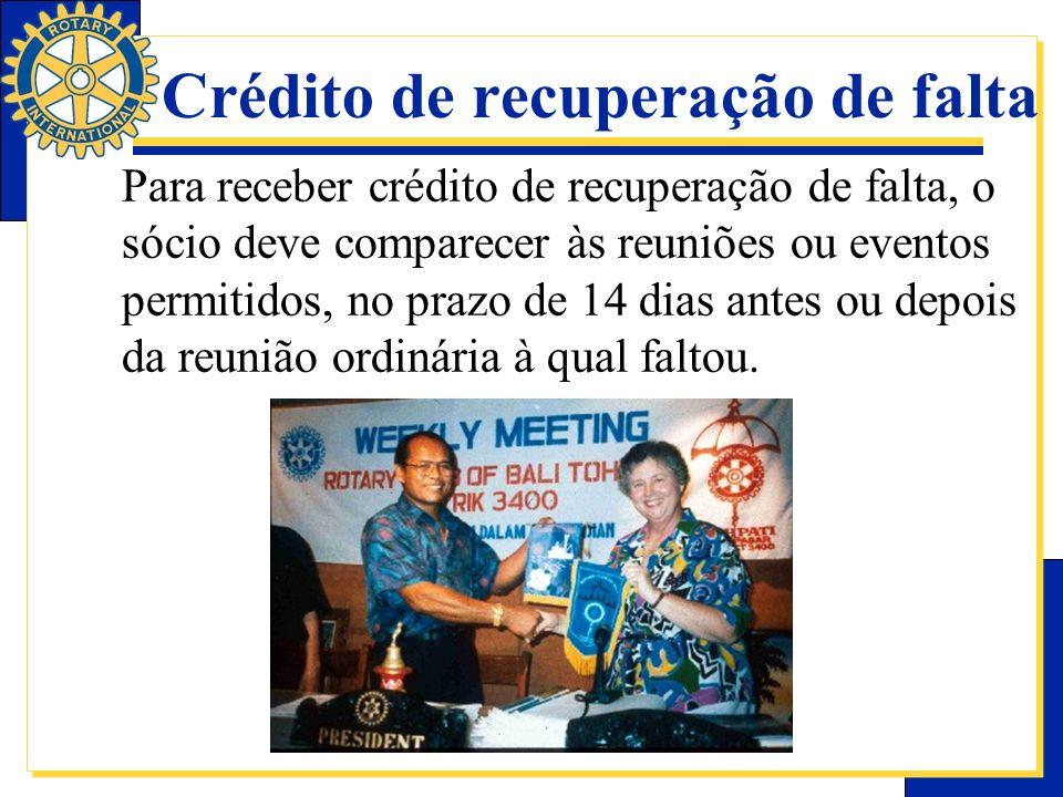 Crédito de recuperação de falta