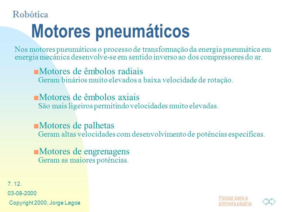 Motores pneumáticos Motores de êmbolos radiais
