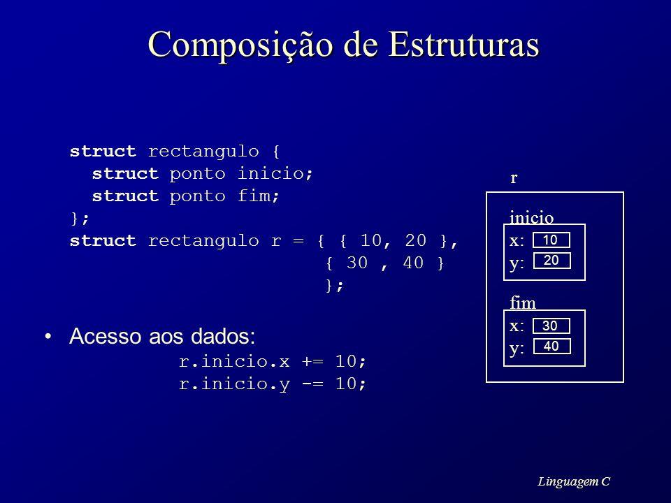 Composição de Estruturas