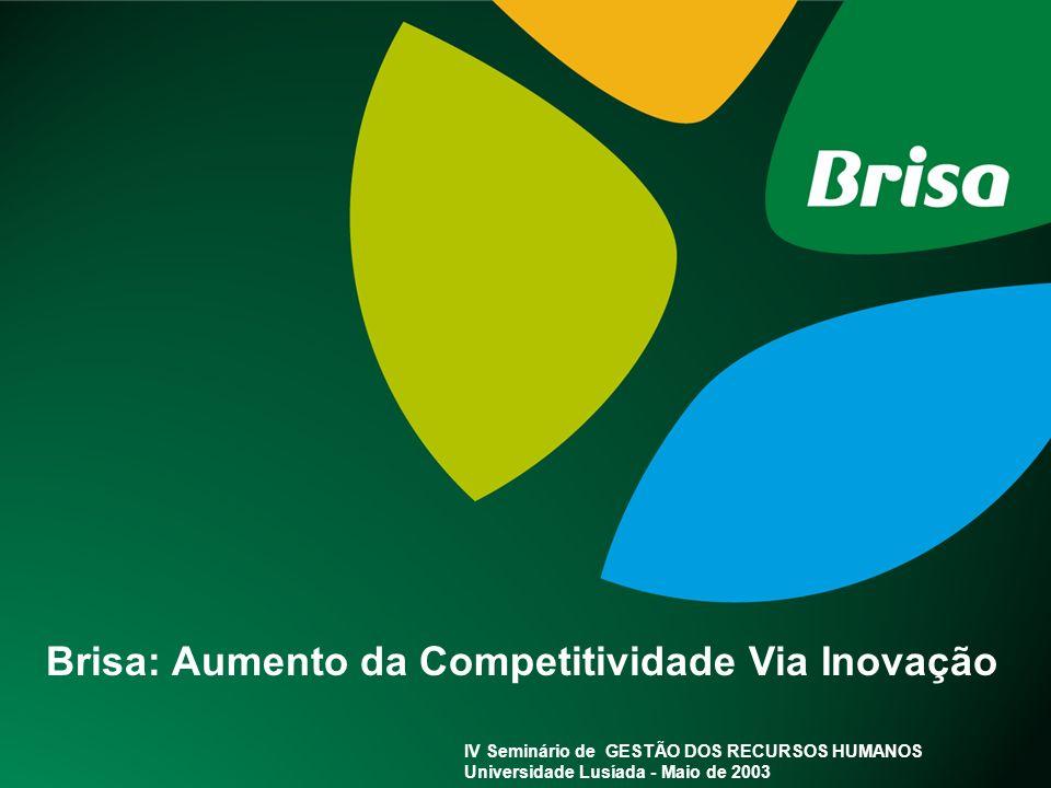 Brisa: Aumento da Competitividade Via Inovação