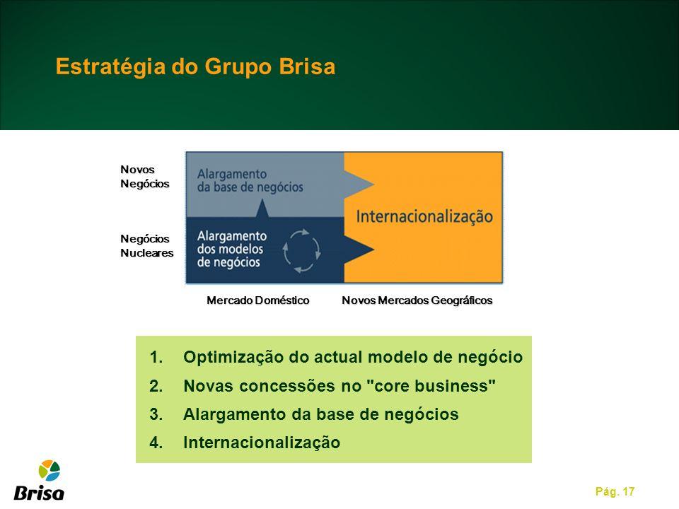 Estratégia do Grupo Brisa