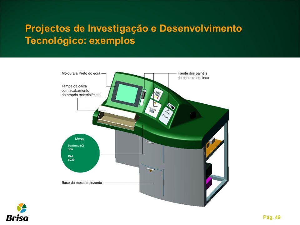 Projectos de Investigação e Desenvolvimento