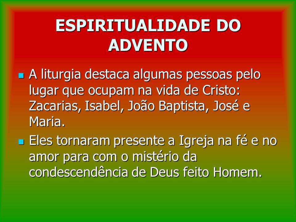 ESPIRITUALIDADE DO ADVENTO