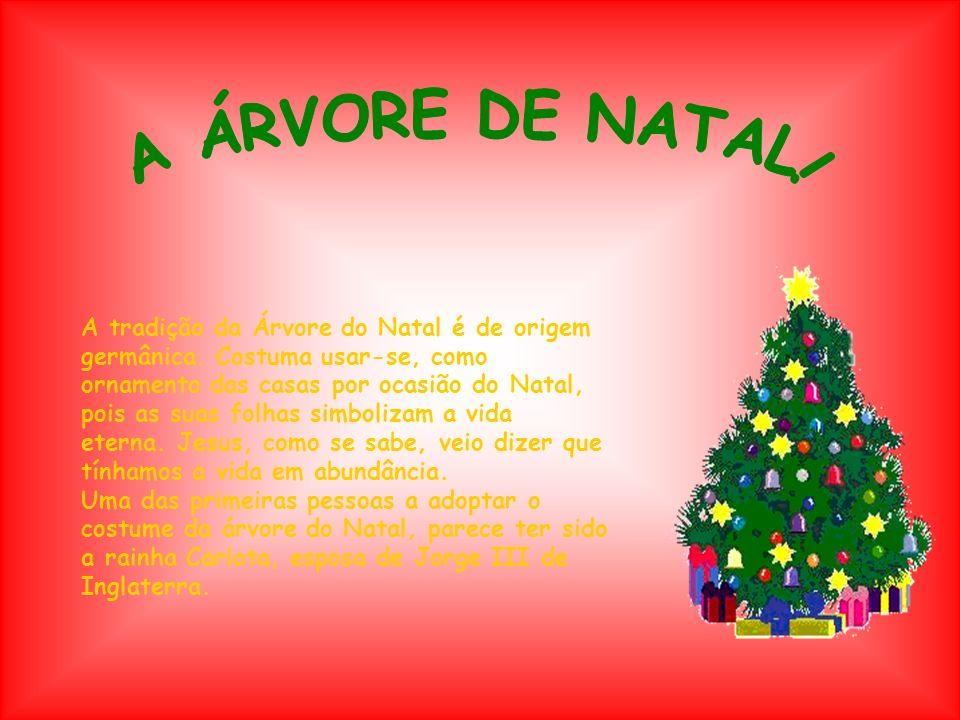 A ÁRVORE DE NATAL!