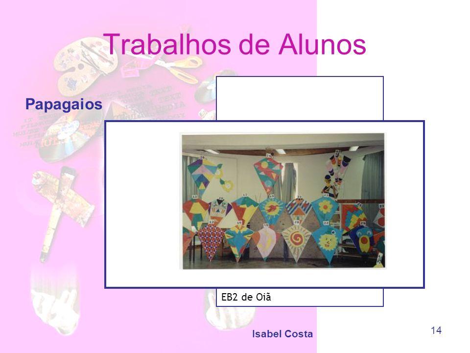 Trabalhos de Alunos Papagaios EB2 de Oiã Isabel Costa