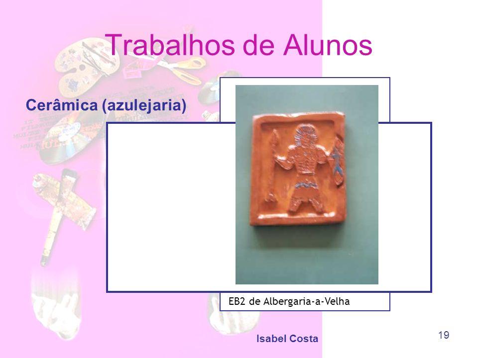 Trabalhos de Alunos Cerâmica (azulejaria) EB2 de Albergaria-a-Velha