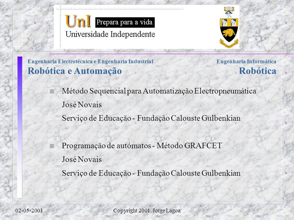 Método Sequencial para Automatização Electropneumática José Novais