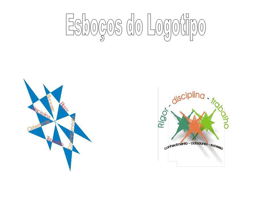 Esboços do Logotipo
