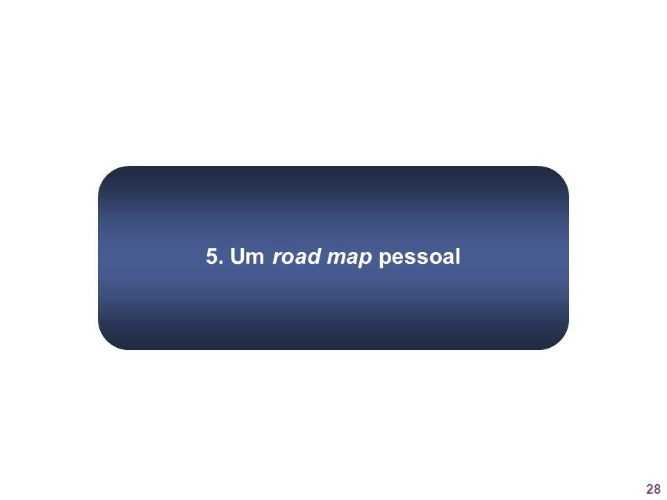 5. Um road map pessoal