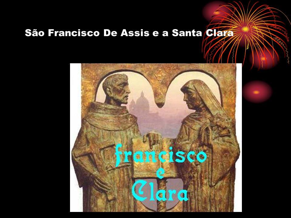 São Francisco De Assis e a Santa Clara