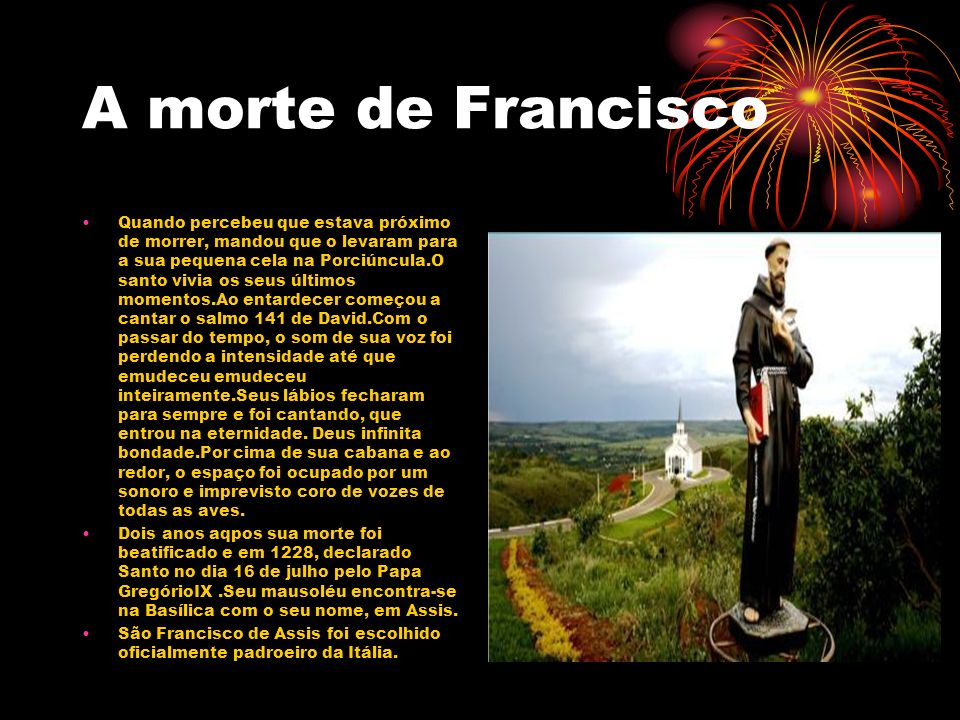 A morte de Francisco