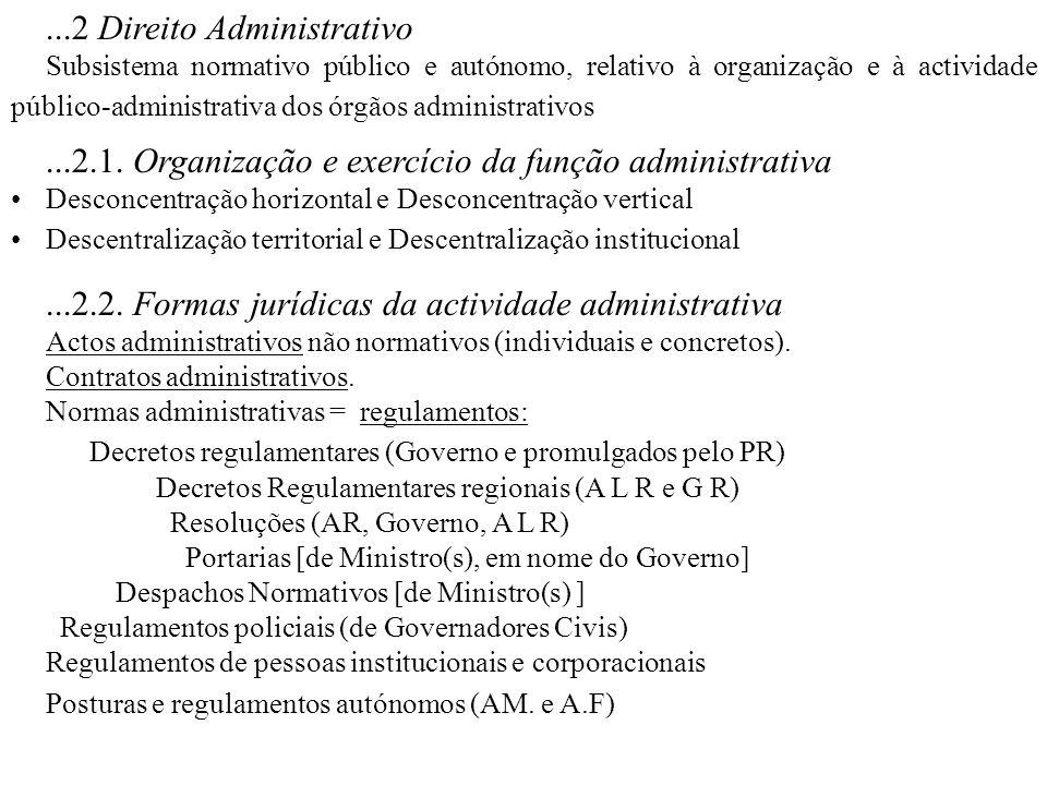 ...2 Direito Administrativo