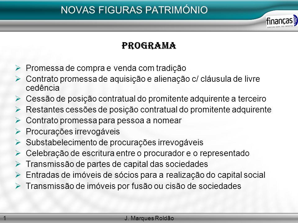 NOVAS FIGURAS PATRIMÓNIO