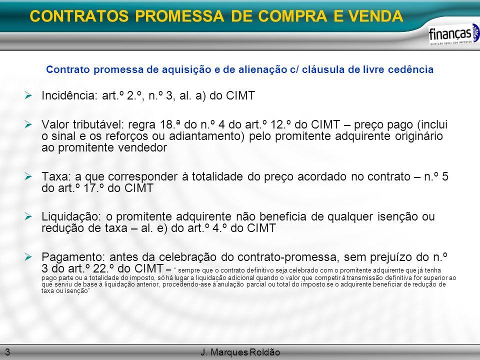 CONTRATOS PROMESSA DE COMPRA E VENDA