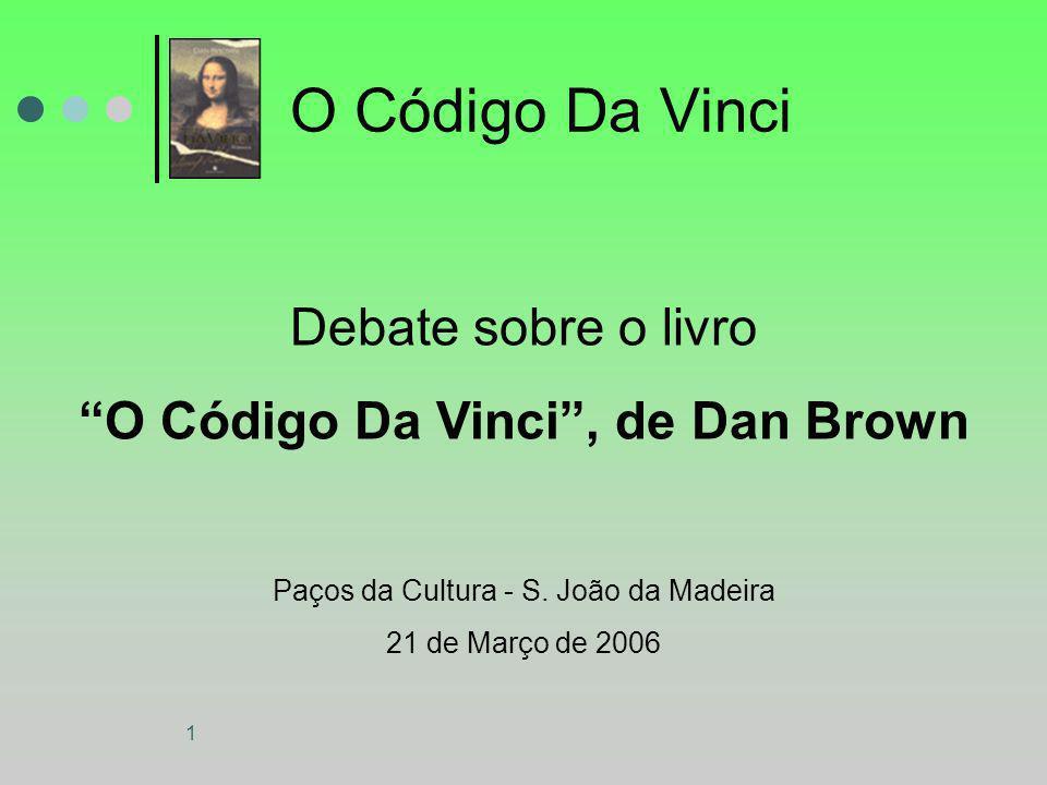 O Código Da Vinci , de Dan Brown