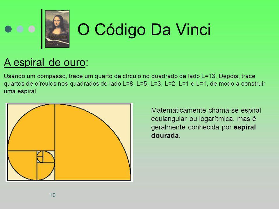 O Código Da Vinci A espiral de ouro: