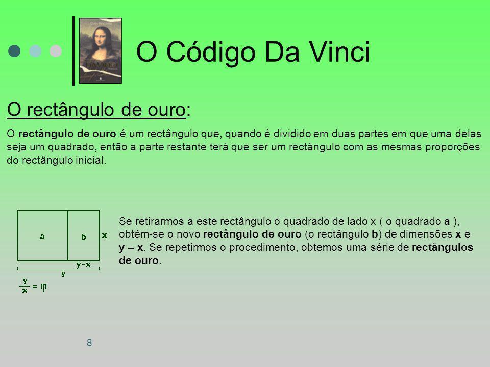 O Código Da Vinci O rectângulo de ouro: