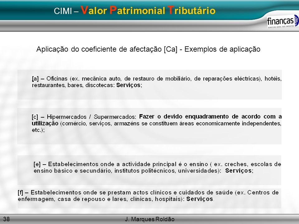 CIMI – Valor Patrimonial Tributário
