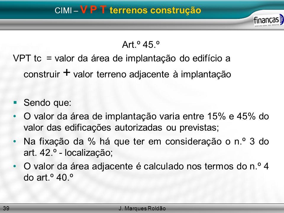 CIMI – V P T terrenos construção