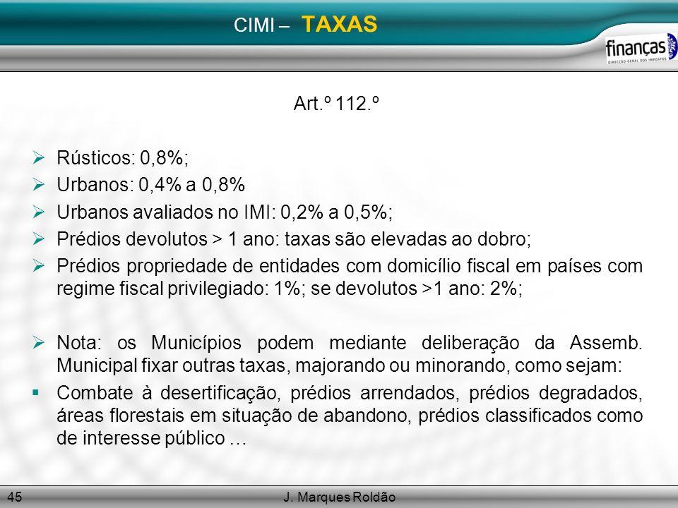 Urbanos avaliados no IMI: 0,2% a 0,5%;