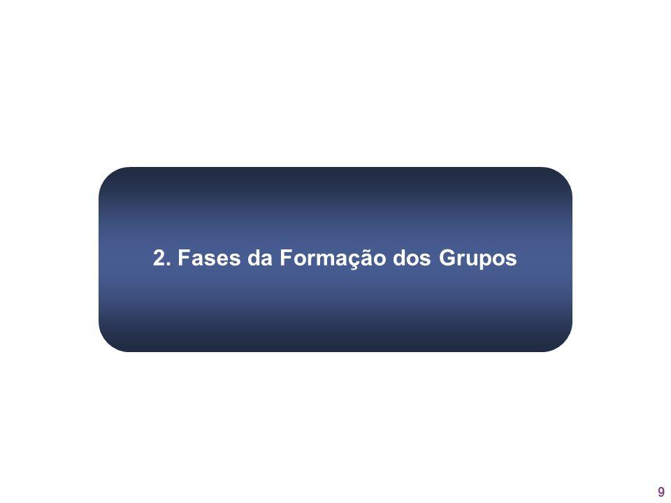 2. Fases da Formação dos Grupos