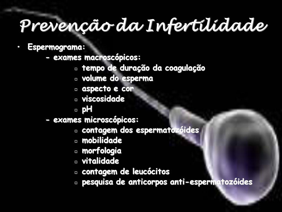 Prevenção da Infertilidade