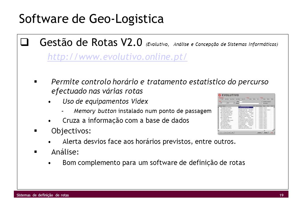 Software de Geo-Logistica