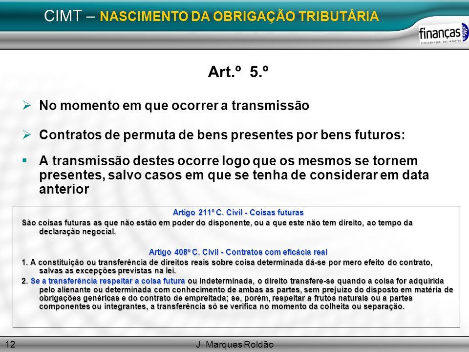 CIMT – NASCIMENTO DA OBRIGAÇÃO TRIBUTÁRIA