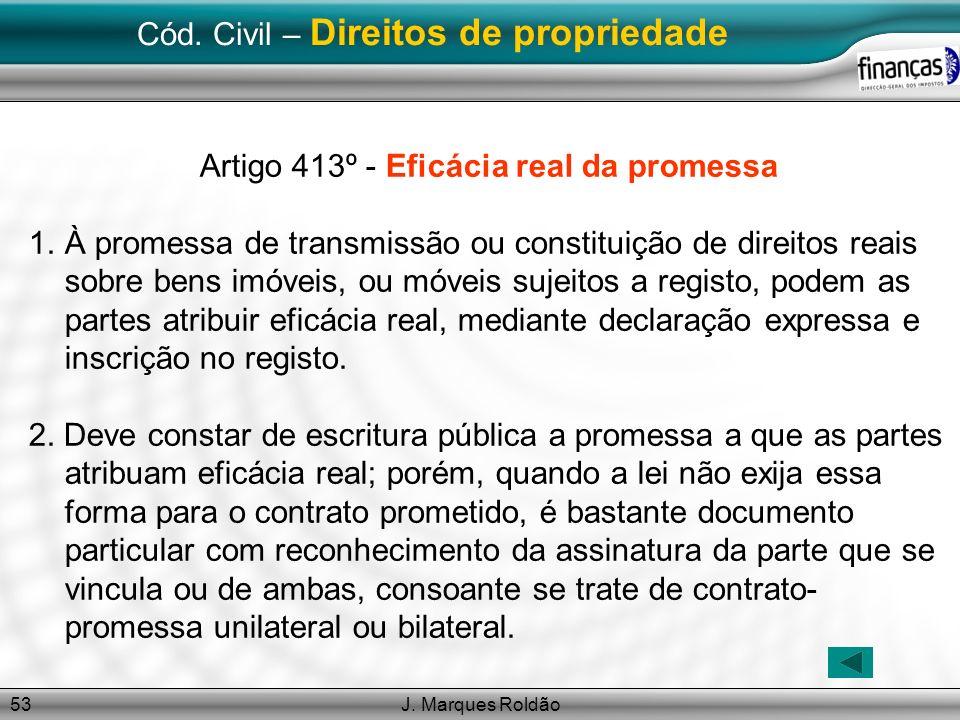 Cód. Civil – Direitos de propriedade