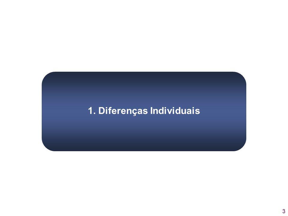1. Diferenças Individuais