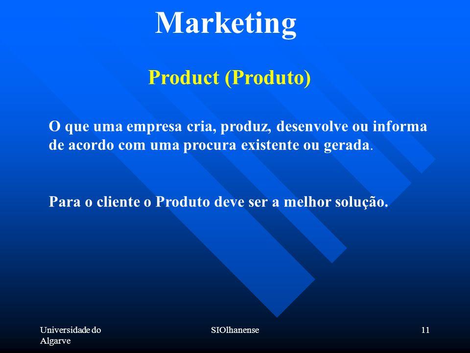 Marketing Product (Produto)