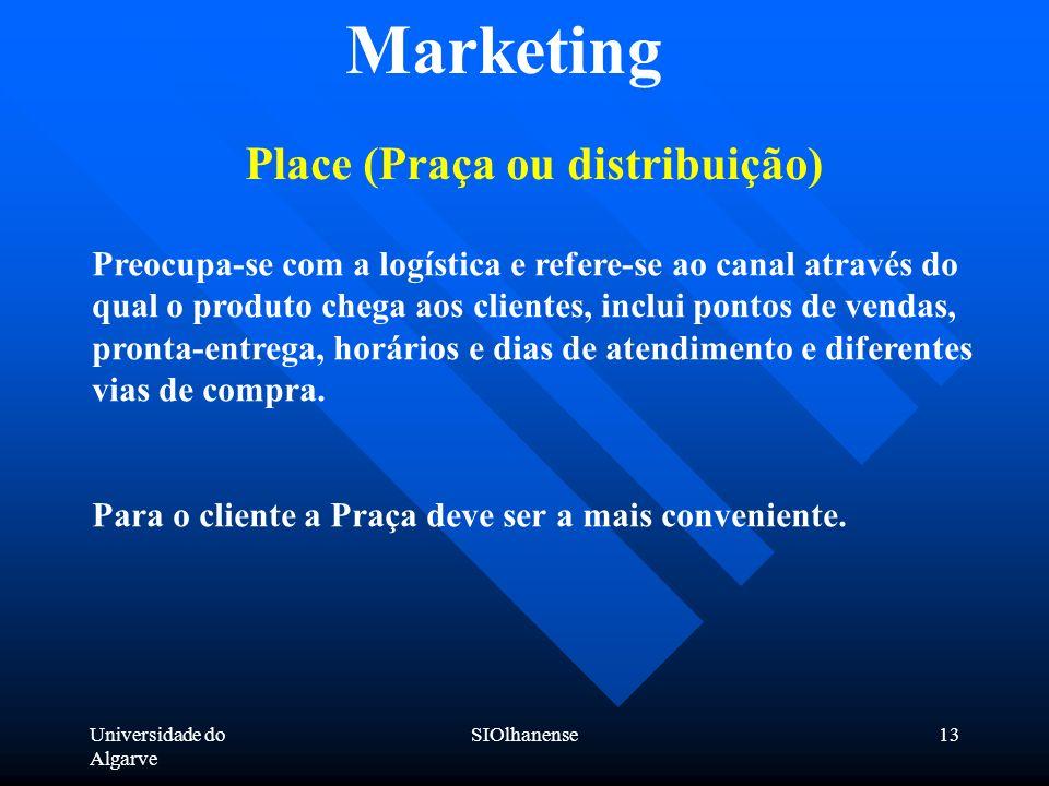 Place (Praça ou distribuição)