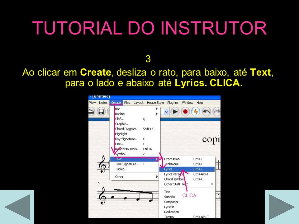 TUTORIAL DO INSTRUTOR 3.