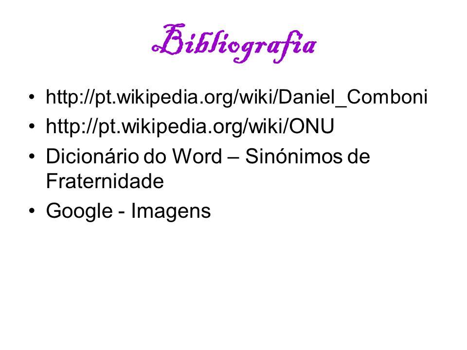 Bibliografia http://pt.wikipedia.org/wiki/ONU