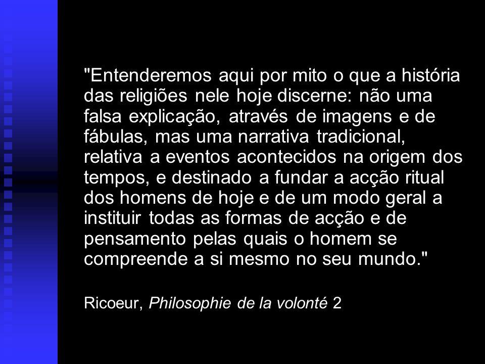 Ricoeur, Philosophie de la volonté 2