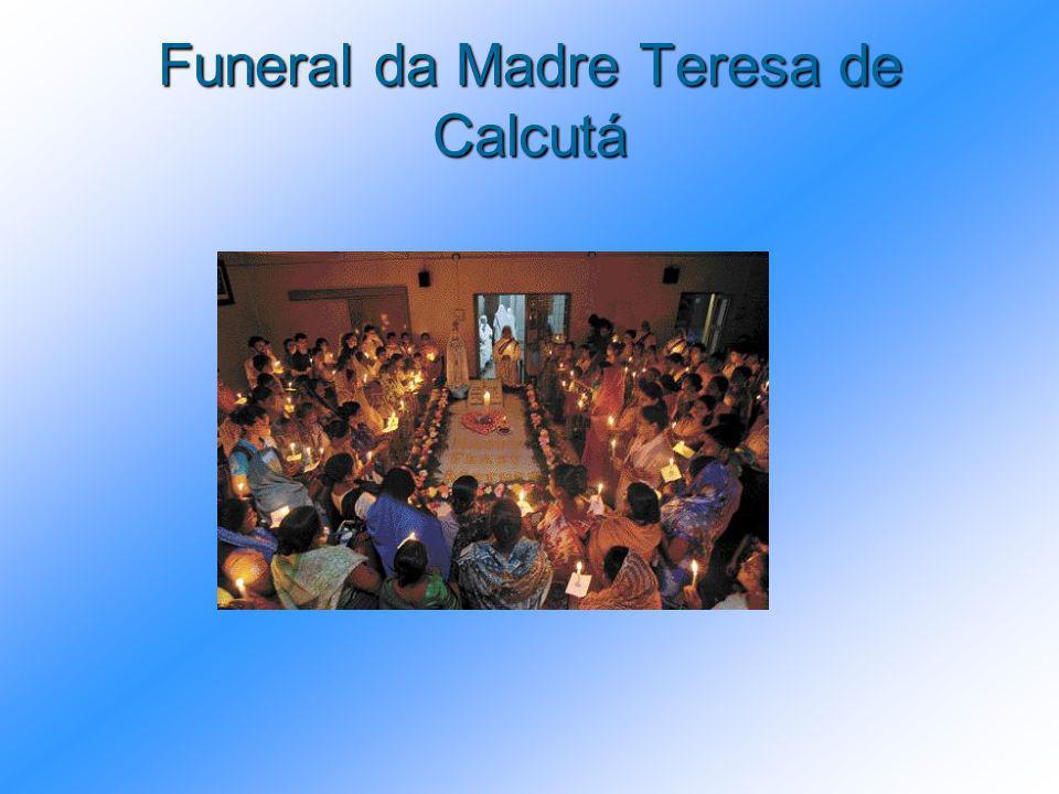 Funeral da Madre Teresa de Calcutá