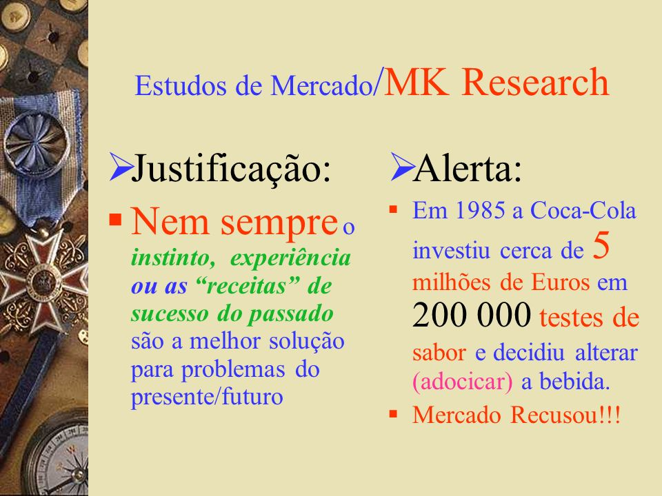 Estudos de Mercado/MK Research
