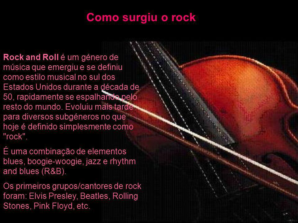 Como surgiu o rock