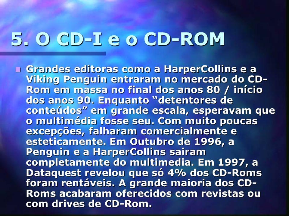 5. O CD-I e o CD-ROM