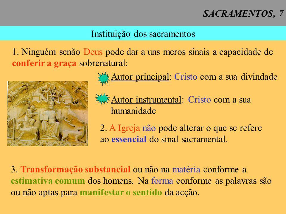 Instituição dos sacramentos