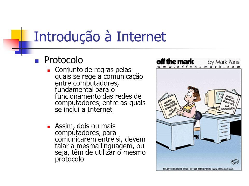 Introdução à Internet Protocolo