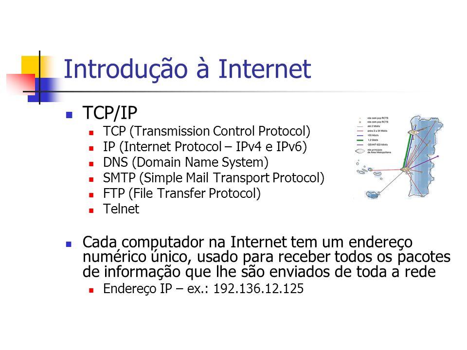Introdução à Internet TCP/IP