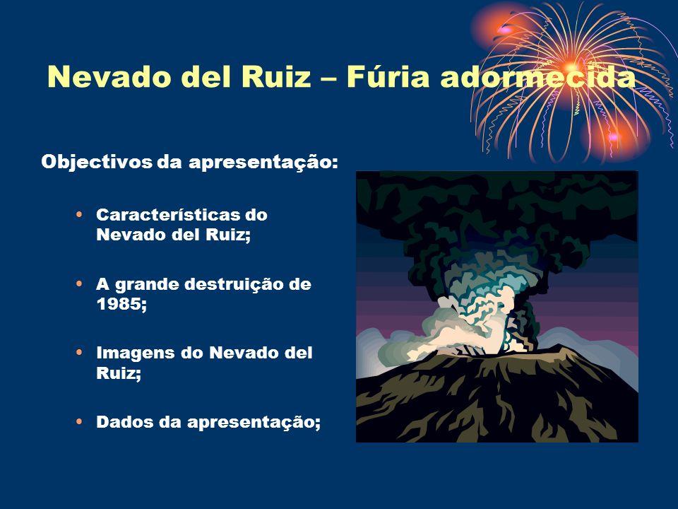 Nevado del Ruiz – Fúria adormecida